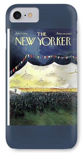 New Yorker July 25th, 1970 IPhone Case by Arthur Getz