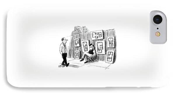 New Yorker July 25th, 1988 IPhone Case by Warren Miller