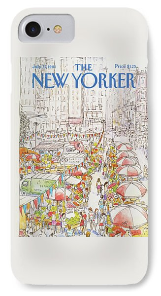 New Yorker July 27th, 1981 IPhone Case