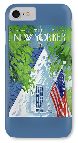 New Yorker July 2nd, 1966 IPhone Case