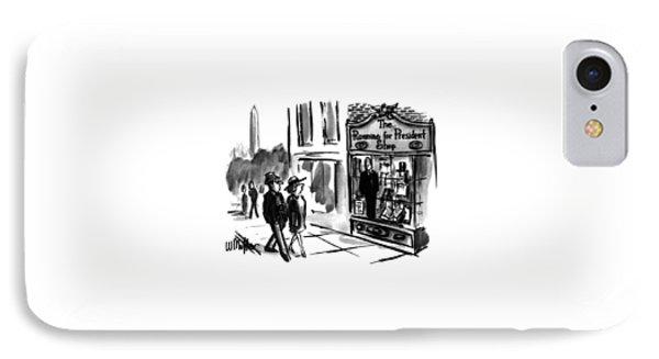 New Yorker July 31st, 1995 IPhone Case by Warren Miller