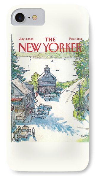 New Yorker July 4th, 1983 IPhone Case