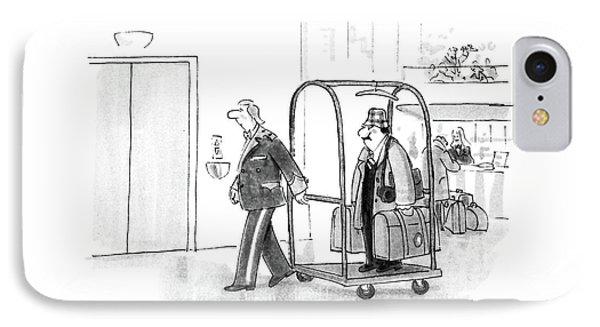 New Yorker July 4th, 1988 IPhone Case by Bernard Schoenbaum