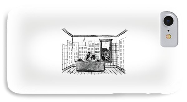 New Yorker July 4th, 1988 IPhone Case by Warren Miller