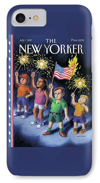 New Yorker July 7th, 1997 IPhone Case by R. Sikoryak