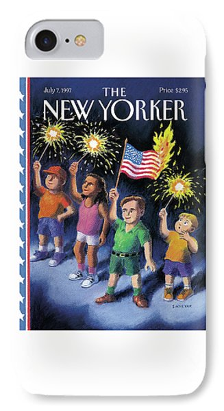 New Yorker July 7th, 1997 IPhone Case