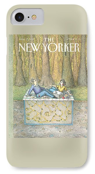 Ant iPhone 7 Case - New Yorker June 15th, 1992 by John O'Brien