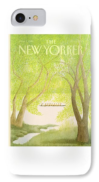 New Yorker June 1st, 1981 IPhone Case