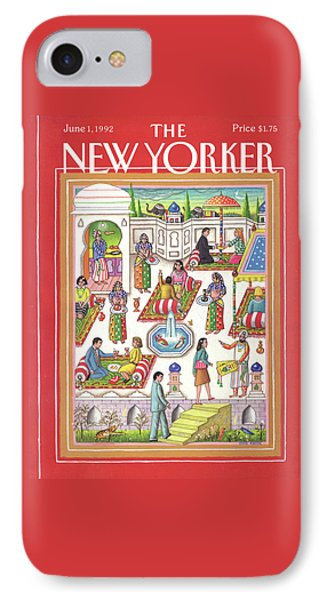 New Yorker June 1st, 1992 IPhone Case by Bob Knox