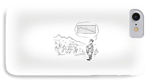 New Yorker June 21st, 1958 IPhone Case by James Stevenson