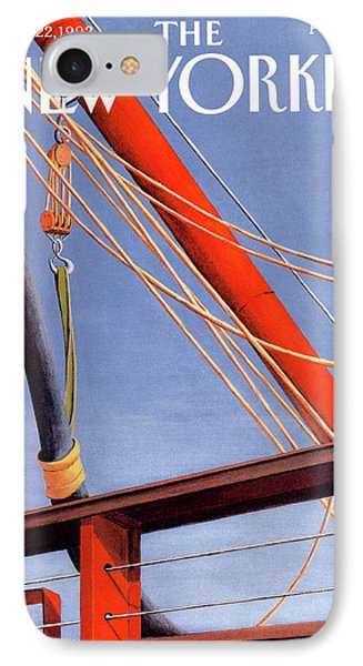 New Yorker June 22nd, 1992 IPhone Case by Gretchen Dow Simpson