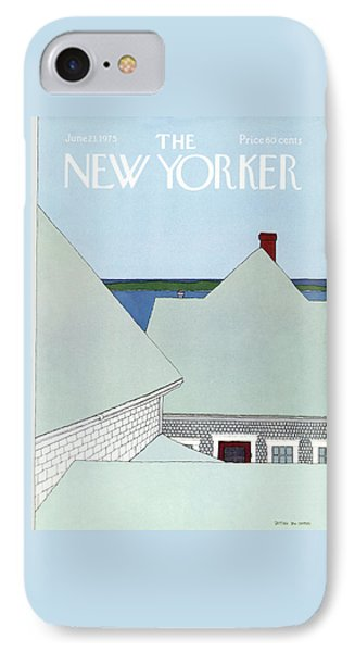 New Yorker June 23rd, 1975 IPhone Case