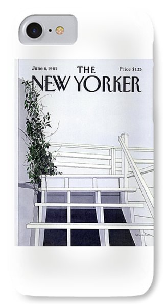 New Yorker June 8th, 1981 IPhone Case