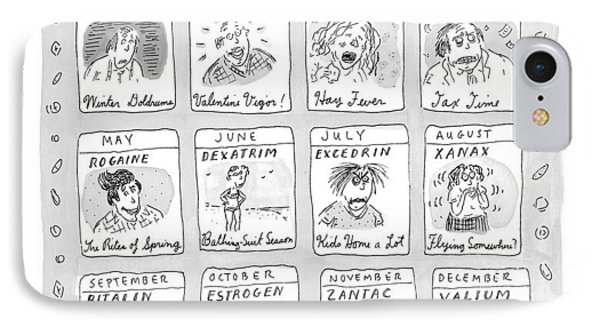 New Yorker June 8th, 1998 IPhone Case by Roz Chast