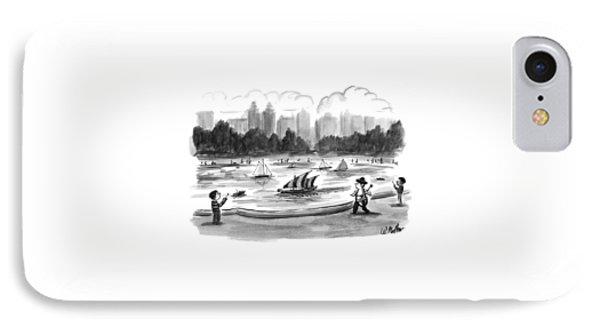 New Yorker June 8th, 1998 IPhone Case by Warren Miller