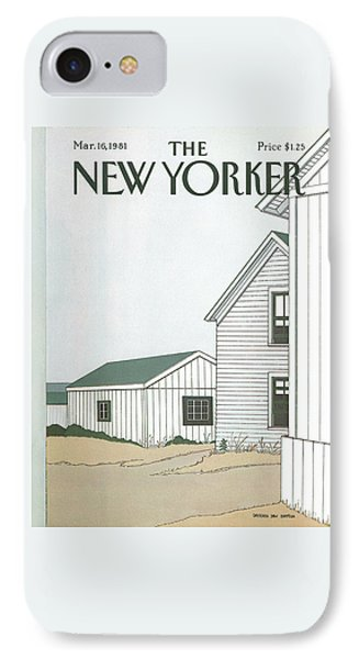 New Yorker March 16th, 1981 IPhone Case