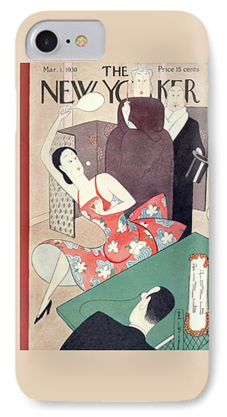 New Yorker March 1st, 1930 IPhone Case