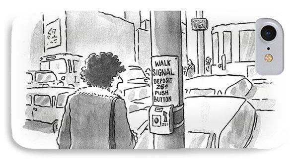 New Yorker March 25th, 1996 IPhone Case by John Jonik