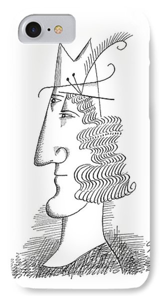New Yorker March 30th, 1963 IPhone Case by Saul Steinberg