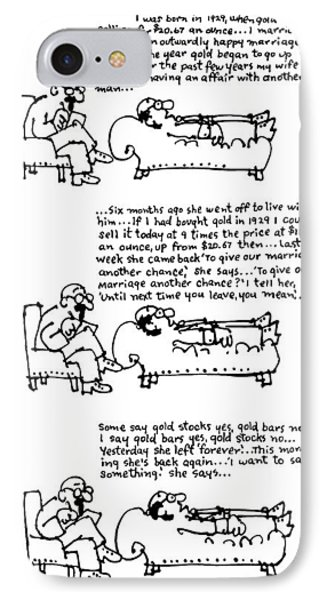 New Yorker March 31st, 1975 IPhone Case by Lou Myers