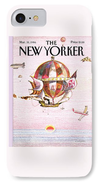 New Yorker March 31st, 1986 IPhone Case by Andrej Czeczot