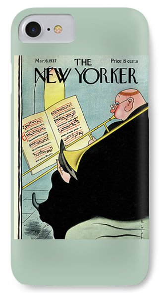 New Yorker March 6th, 1937 IPhone Case