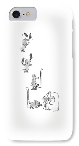 New Yorker May 10th, 1999 IPhone Case by Arnie Levin