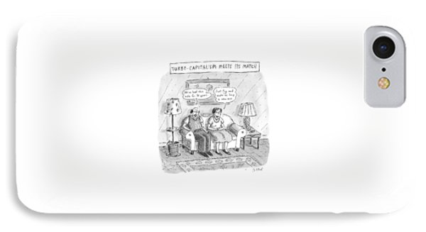 New Yorker May 10th, 1999 IPhone Case by Roz Chast