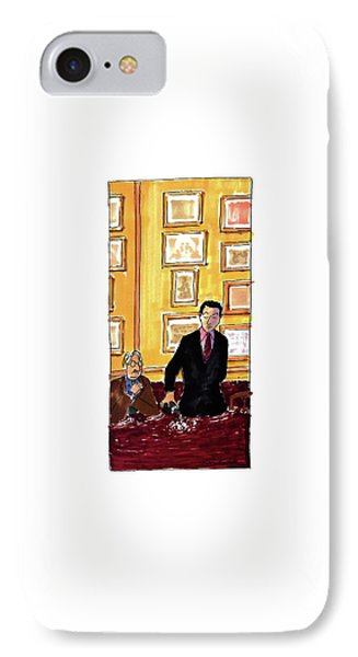 New Yorker May 16th, 1994 IPhone Case by Michael Crawford