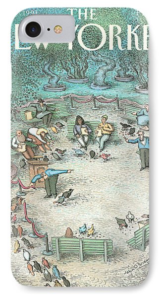 New Yorker May 27th, 1991 IPhone Case by John O'Brien