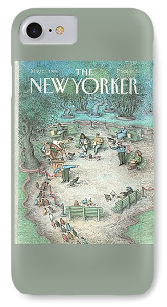 New Yorker May 27th, 1991 IPhone Case