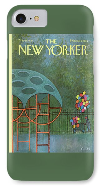 New Yorker May 9th, 1970 IPhone Case