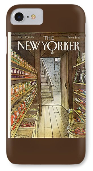 New Yorker November 10th, 1980 IPhone Case