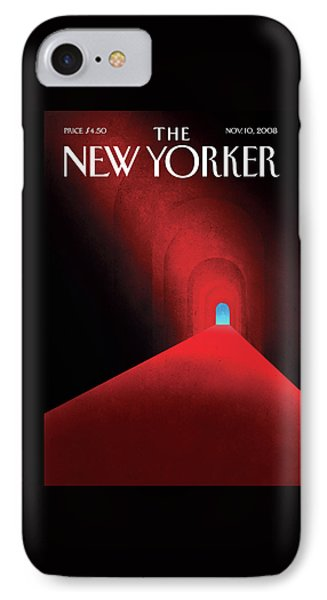 New Yorker November 10th, 2008 IPhone Case by Brian Stauffer