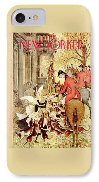 New Yorker November 11th, 1950 IPhone Case by Mary Petty
