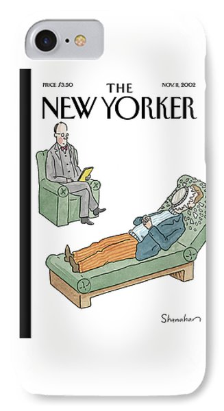 New Yorker November 11th, 2002 IPhone Case by Danny Shanahan