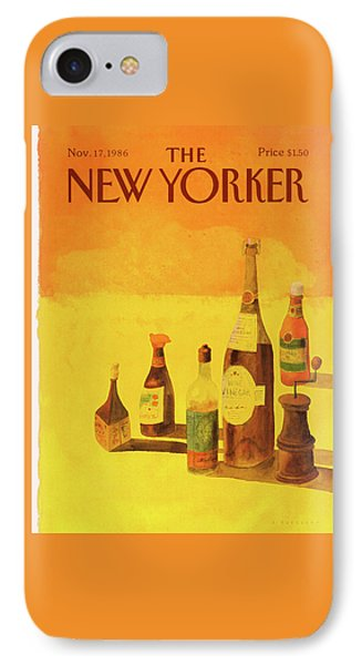 New Yorker November 17th, 1986 IPhone Case by Abel Quezada