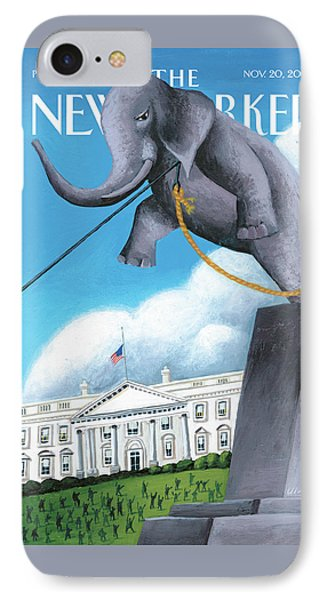 New Yorker November 20th, 2006 IPhone Case by Mark Ulriksen