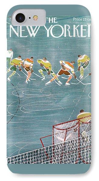 New Yorker November 21st, 1959 IPhone Case by Anatol Kovarsky