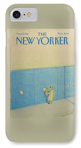 New Yorker November 23rd, 1981 IPhone Case