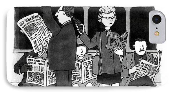 New Yorker November 28th, 1994 IPhone Case by J.B. Handelsman
