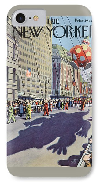 New Yorker November 29th, 1952 IPhone Case by Arthur Getz