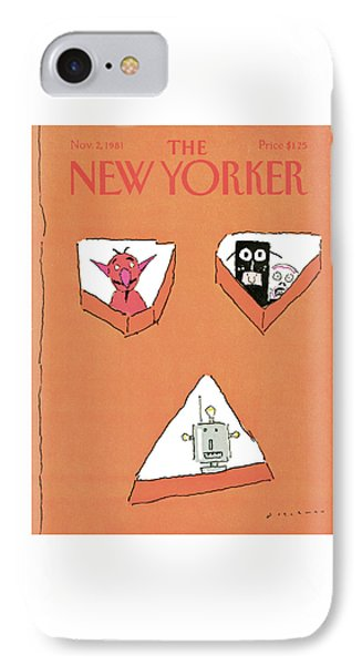 New Yorker November 2nd, 1981 IPhone Case