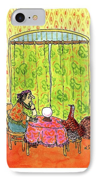 New Yorker November 30th, 1992 IPhone Case by William Steig