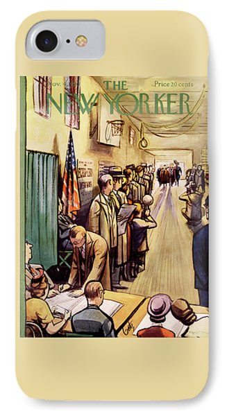 New Yorker November 4th, 1950 IPhone Case