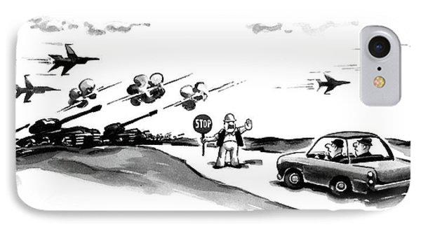New Yorker November 9th, 1987 IPhone Case by Eldon Dedini