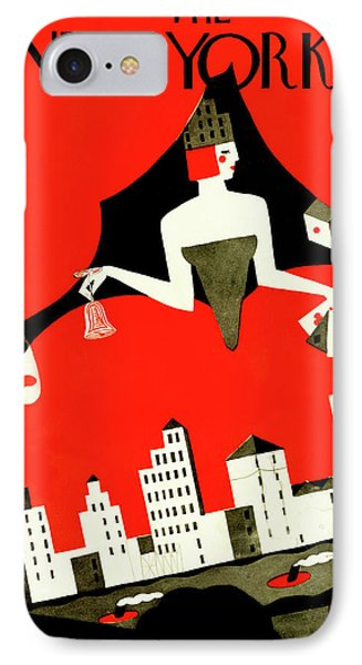 New Yorker October 10th, 1925 IPhone Case by Ilonka Karasz