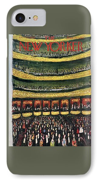 New Yorker October 24th, 1959 IPhone Case by Abe Birnbaum