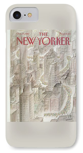 New Yorker October 25th, 1982 IPhone Case