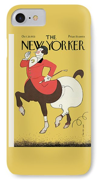 New Yorker October 28th, 1933 IPhone Case